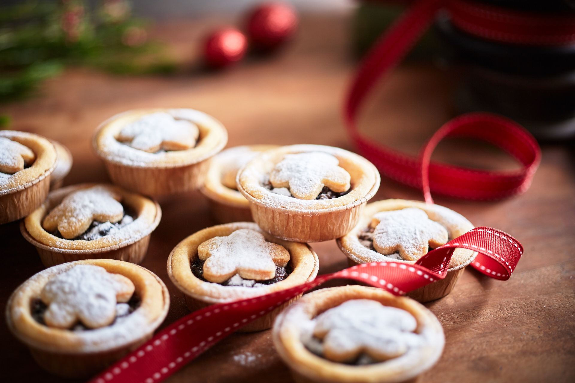 Christmas Pies.Christmas Fruit Mince Pies